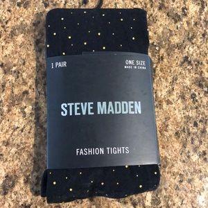 Gold dot Steve Madden tights